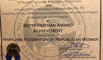 MFRW Receives Award for Excellence
