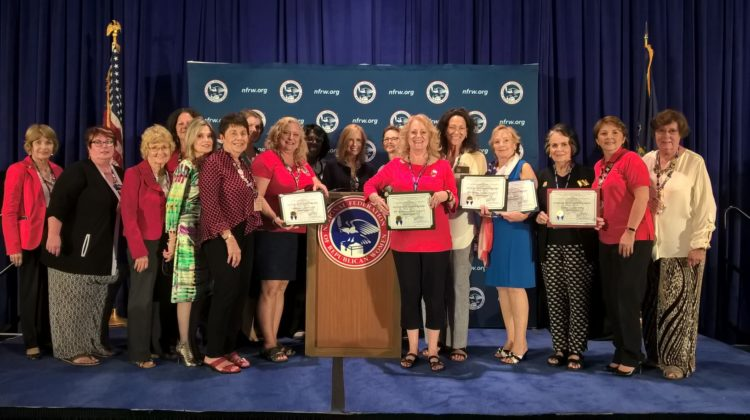 MFRW Clubs are National Award Winners
