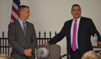 Thank you! – An Evening with Dave Bossie and Corey Lewandowski