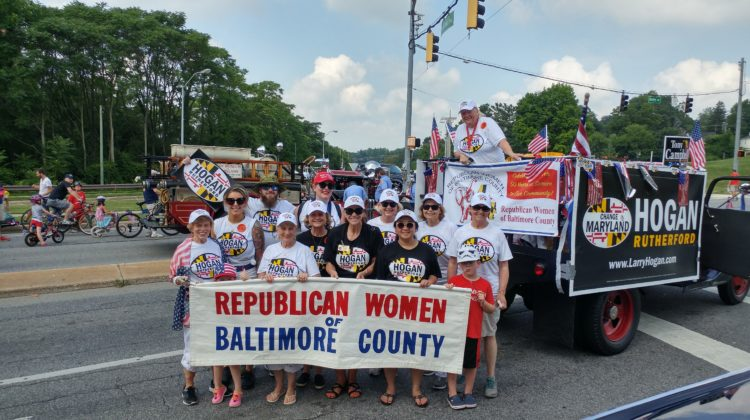 4th of July parade with the RW of Baltimore County
