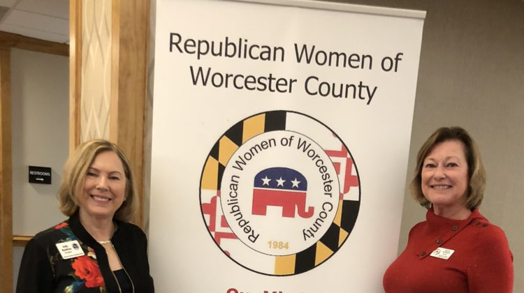 NFRW President Jody Rushton visits RW of Worcester County