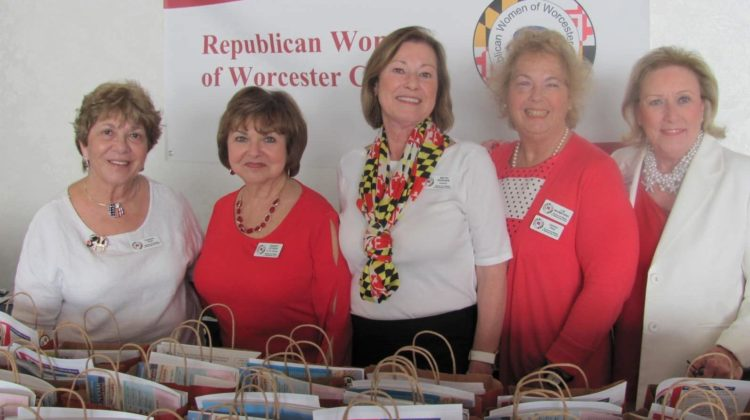 Worcester County RW host Hospitality Suite at MDGOP Spring Convention