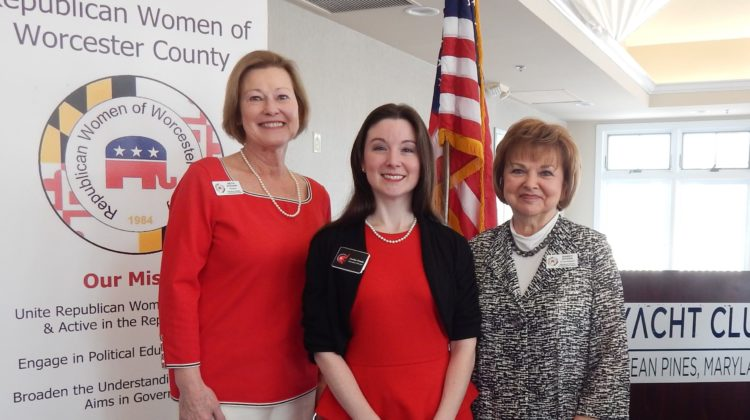 RW of Worcester County Feb Meeting with MDGOP Executive Director Corine Frank