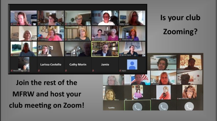 MFRW Clubs embrace Zoom