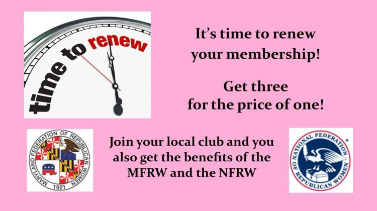 Time to Renew (or Join)!