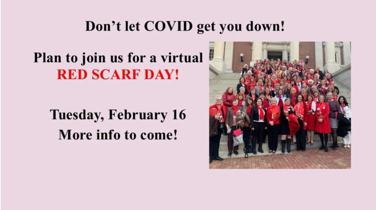 2021 MFRW Red Scarf Day