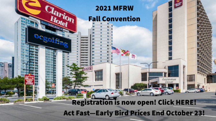 2021 MFRW Fall Convention